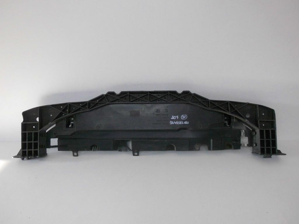 Peugeot 207 osłona płyta belka pod zderzak przód