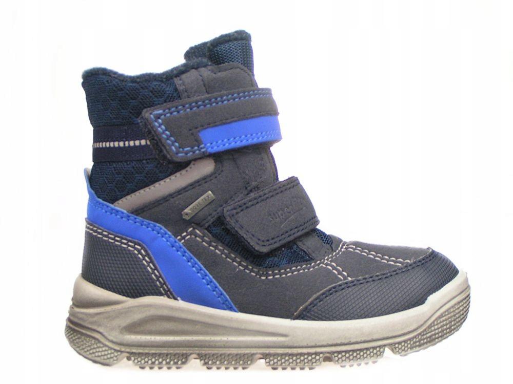 SUPERFIT-Niebieskie Śniegowce 3-09077-80 R 34