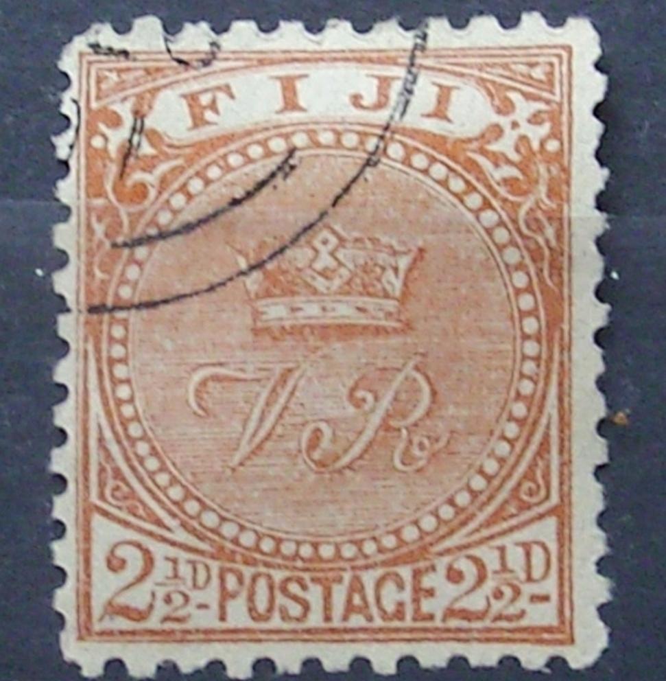 KOLONIE ANGIELSKIE FIJI 1891 MI 31