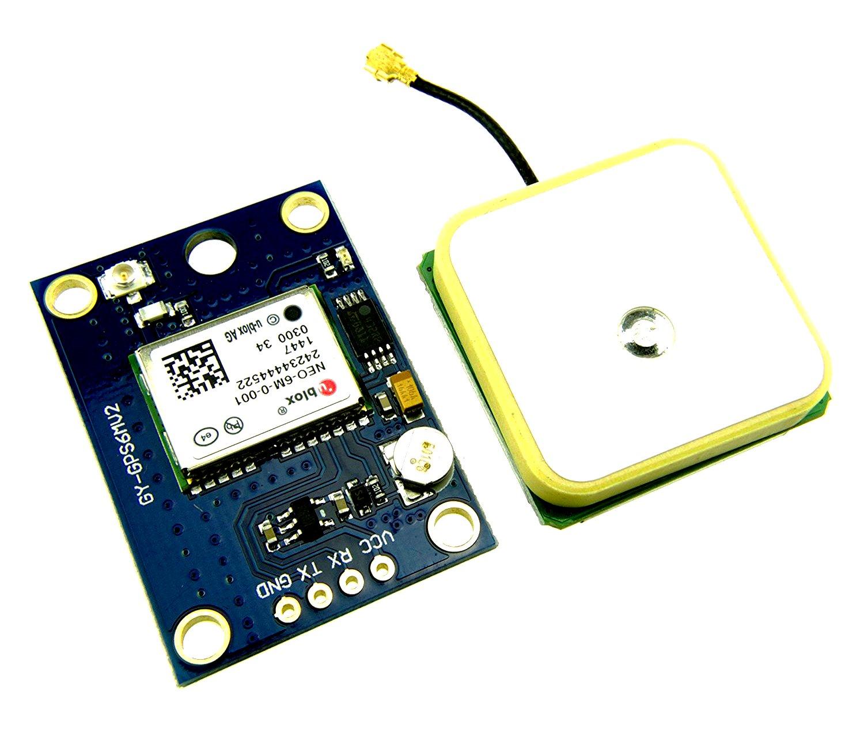 Moduł GPS GY-NEO6MV2 APM2.5 Arduino kontroler lotu