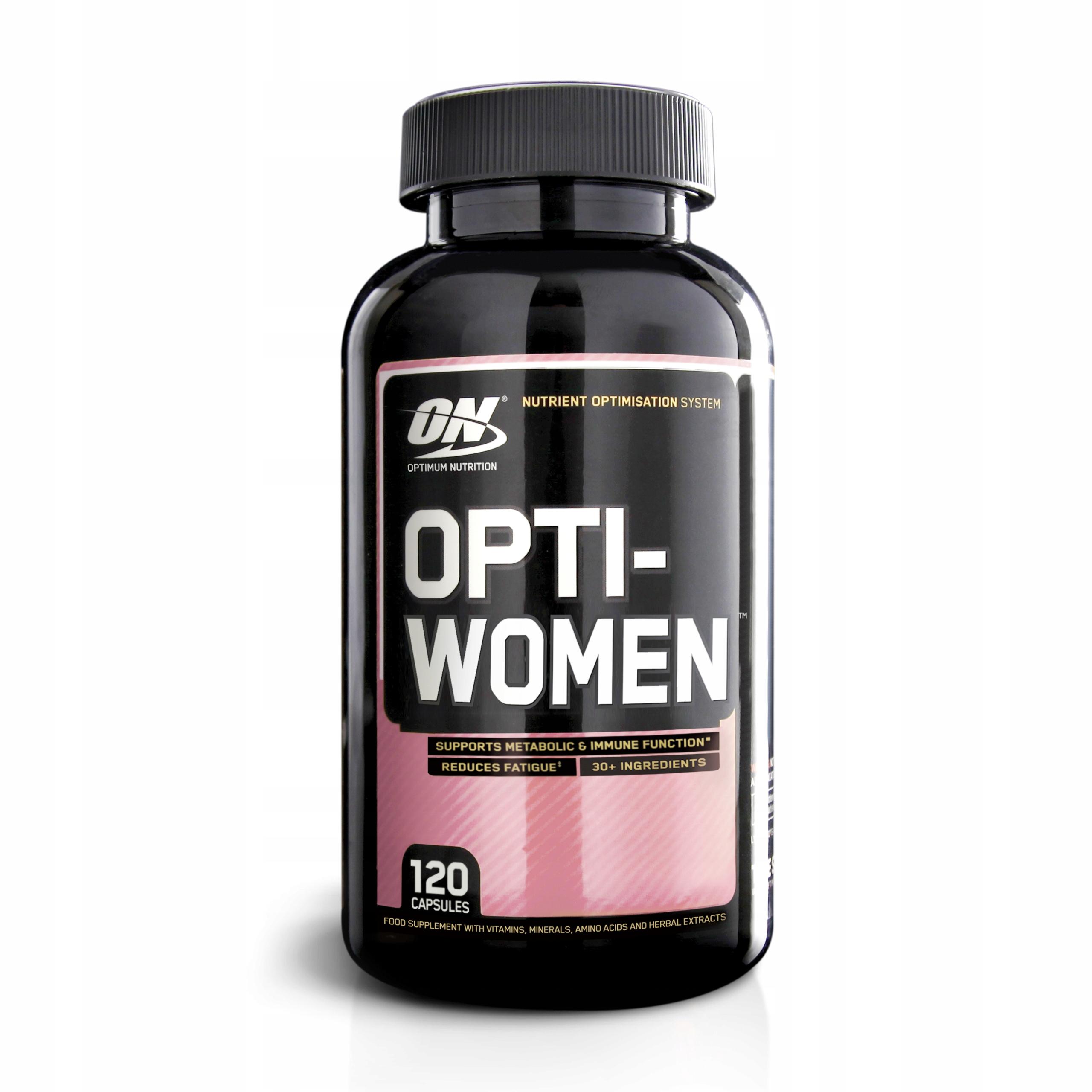 OPTIMUM OPTI WOMEN 120cap WITAMINY MIN DLA KOBIET