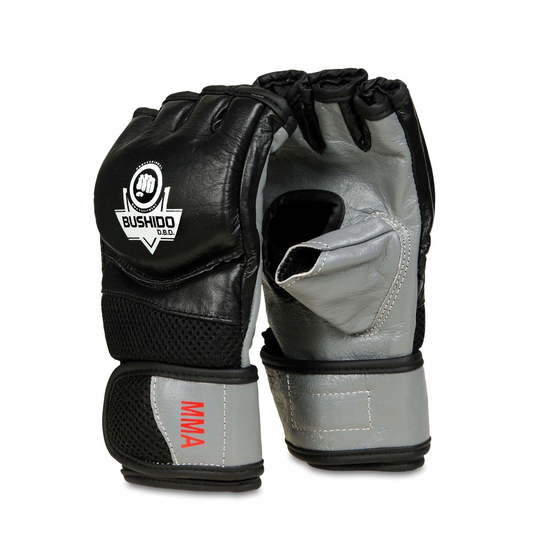 Rękawice ze Skóry do Treningu MMA, Krav Magi - XL
