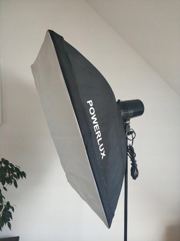 Lampa błyskowa studyjna Softbox 50x70 studio