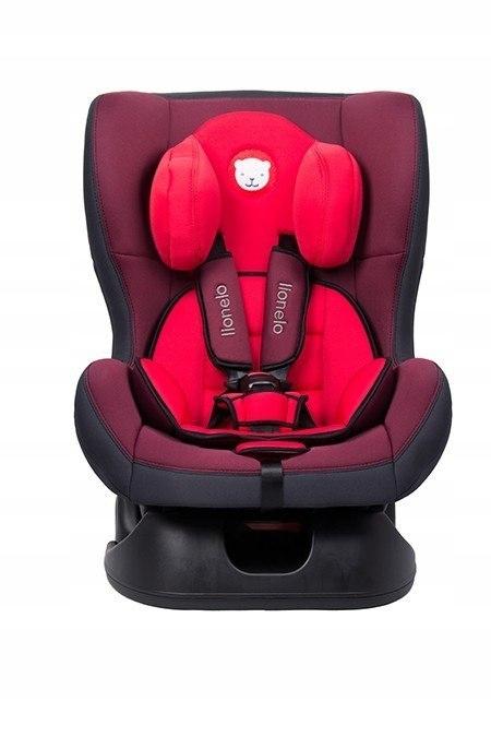 Fotelik 0-18 kg Liam Plus red