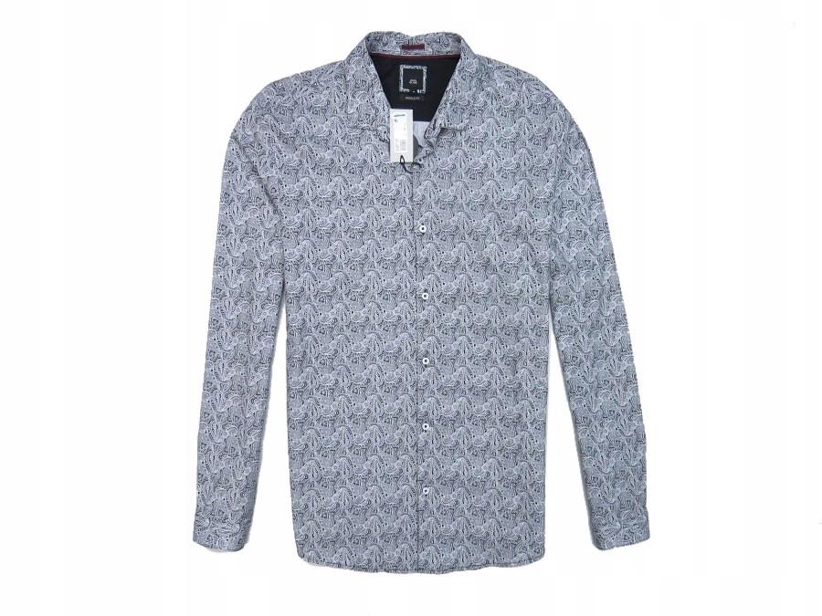RIVER ISLAND outlet koszula męska wzory MUSCLE M