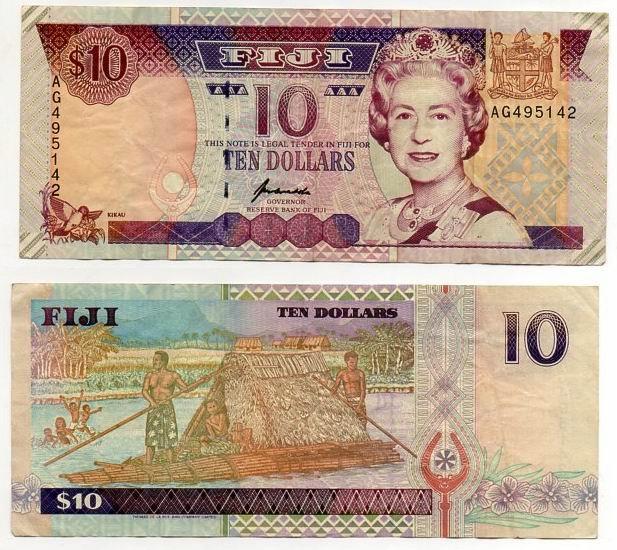 FIDŻI 1996 10 DOLLARS