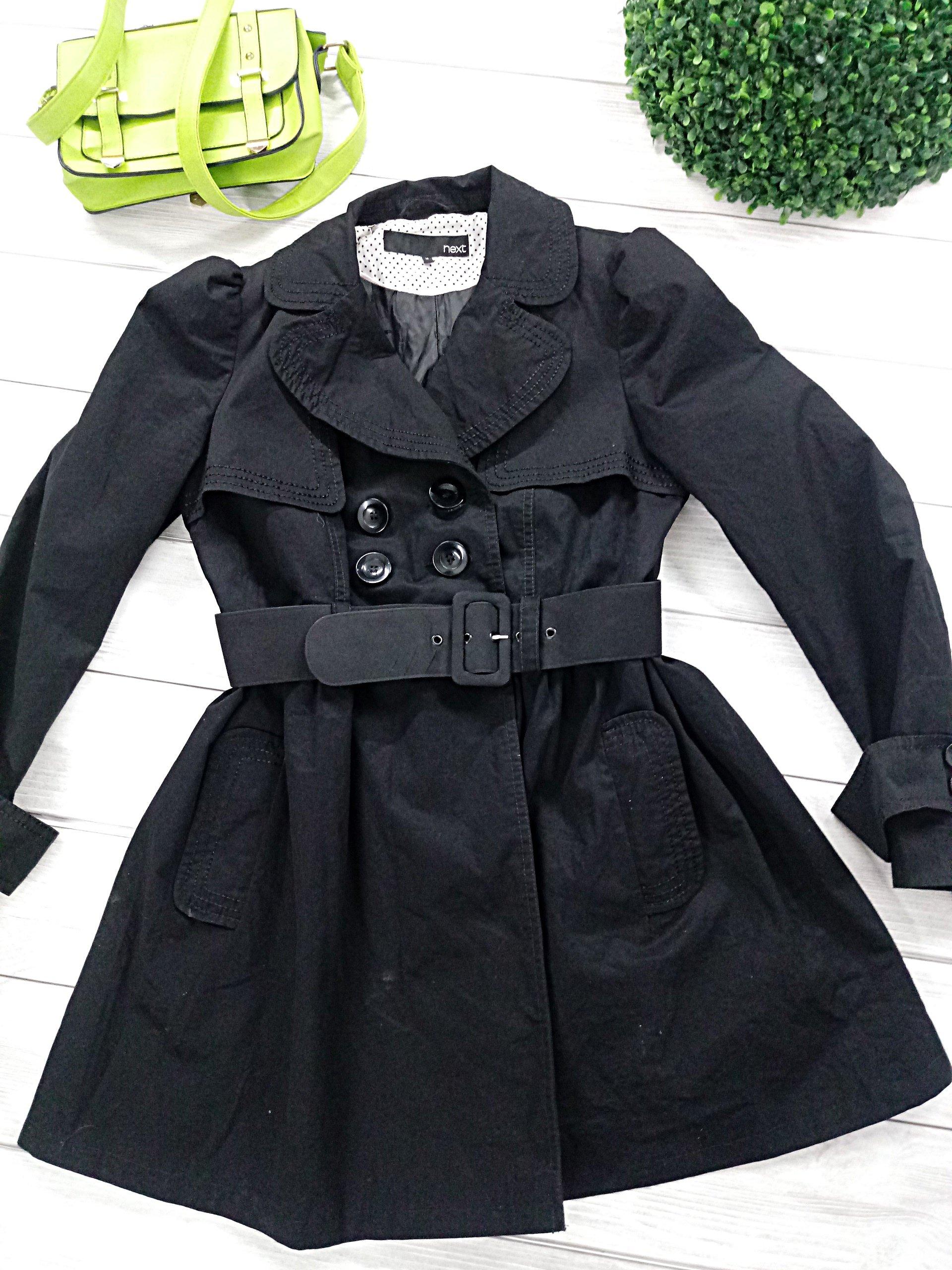 Płaszcz NEXT trencz MODNY wiosenny 42 XL WIOSNA