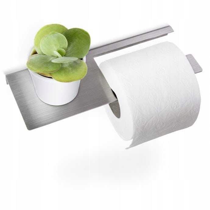Uchwyt na papier toaletowy STALDA stal nierdzewna