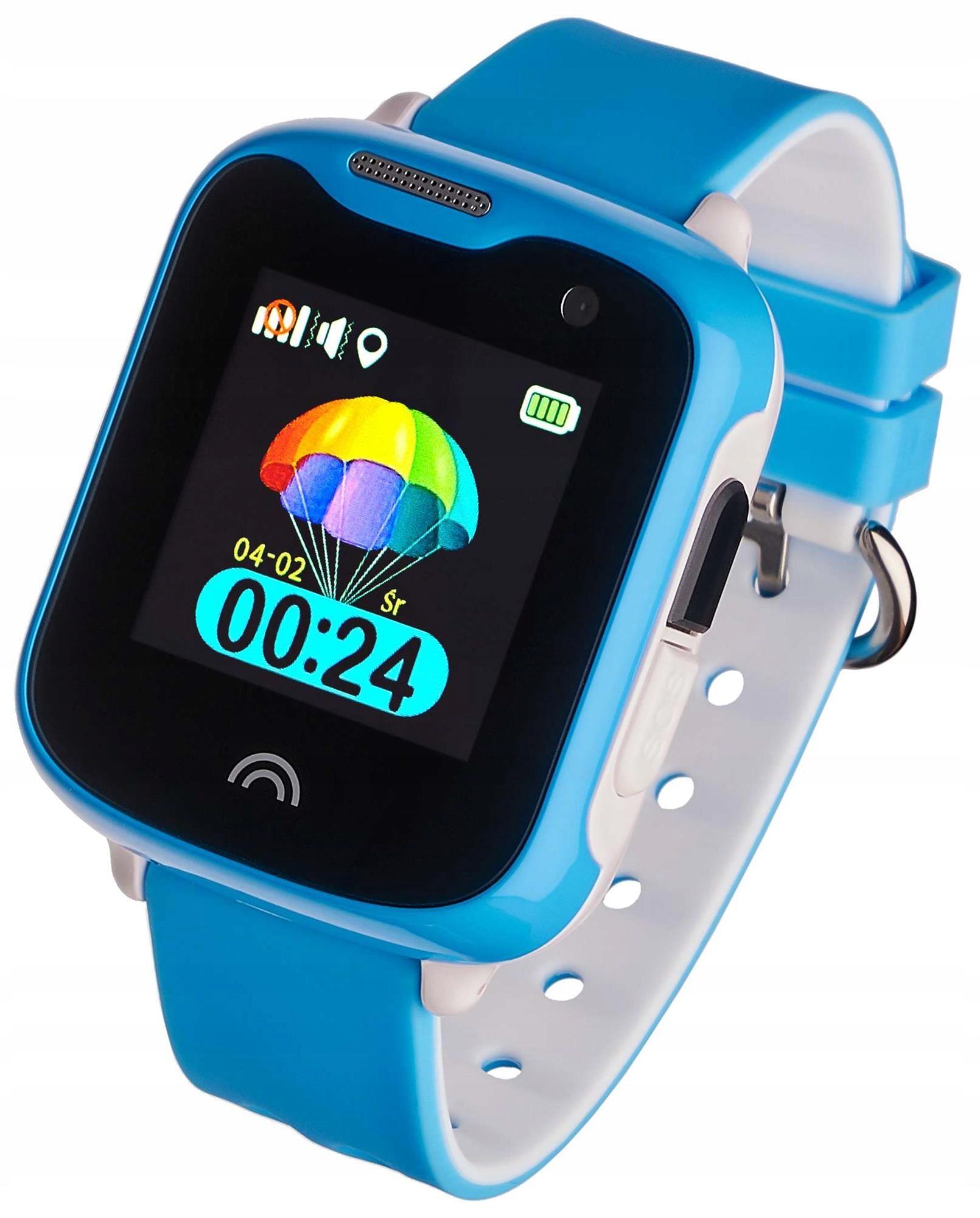 Smartwatch Dziecięcy Garett Kids Sweet Niebieski