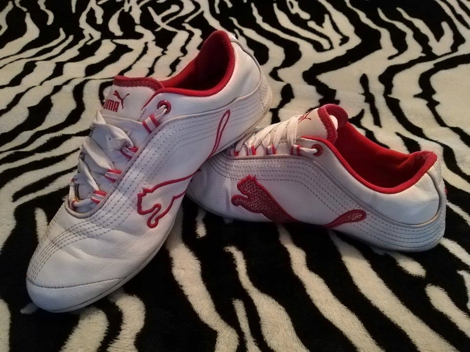 Buty sportowe PUMA 37 23 cm różowe