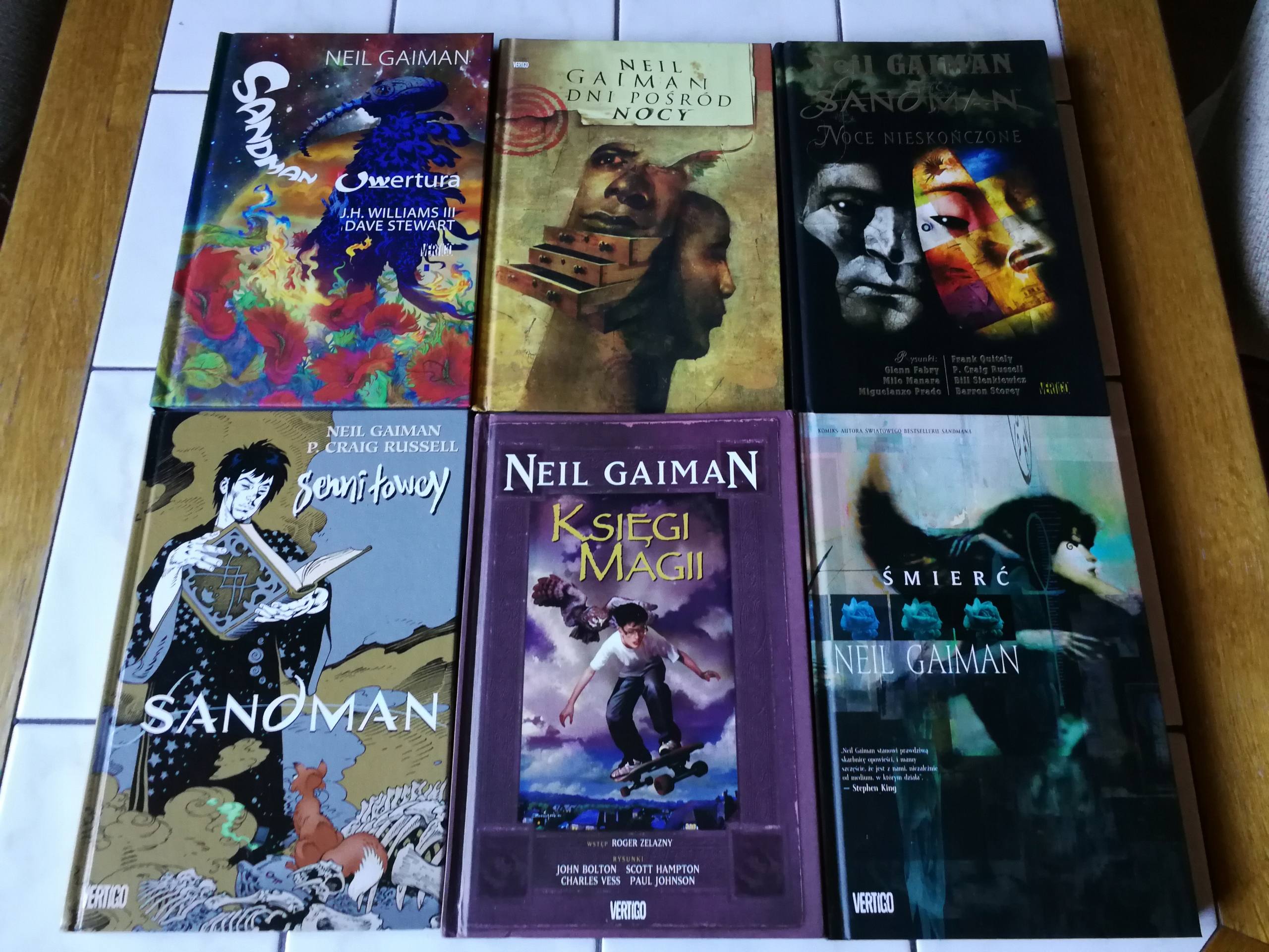 Neil Gaiman - Sandman - Serie poboczne w HC