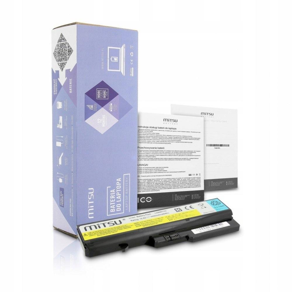 Bateria do Lenovo IdeaPad G460, G560 4400 mAh (48