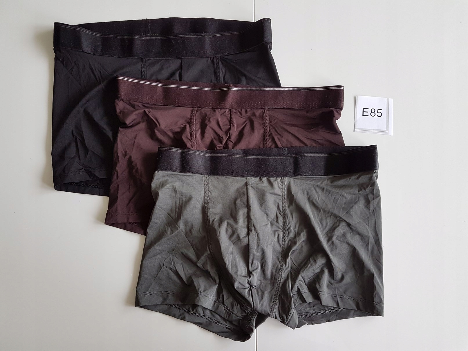 BOKSERKI majtki H&M rozm: M 3-pak E85