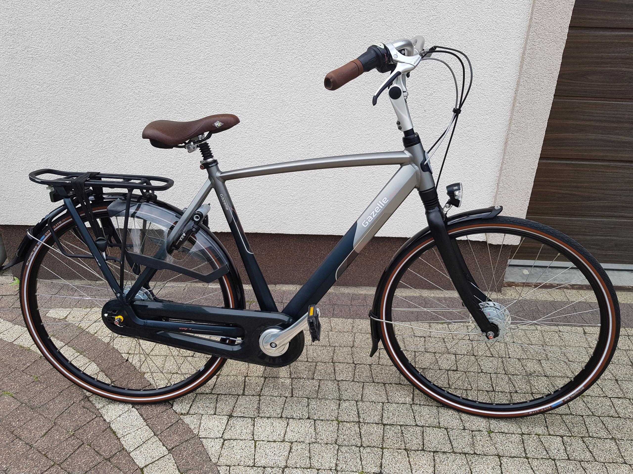 rower gazelle orange C8 męski 57