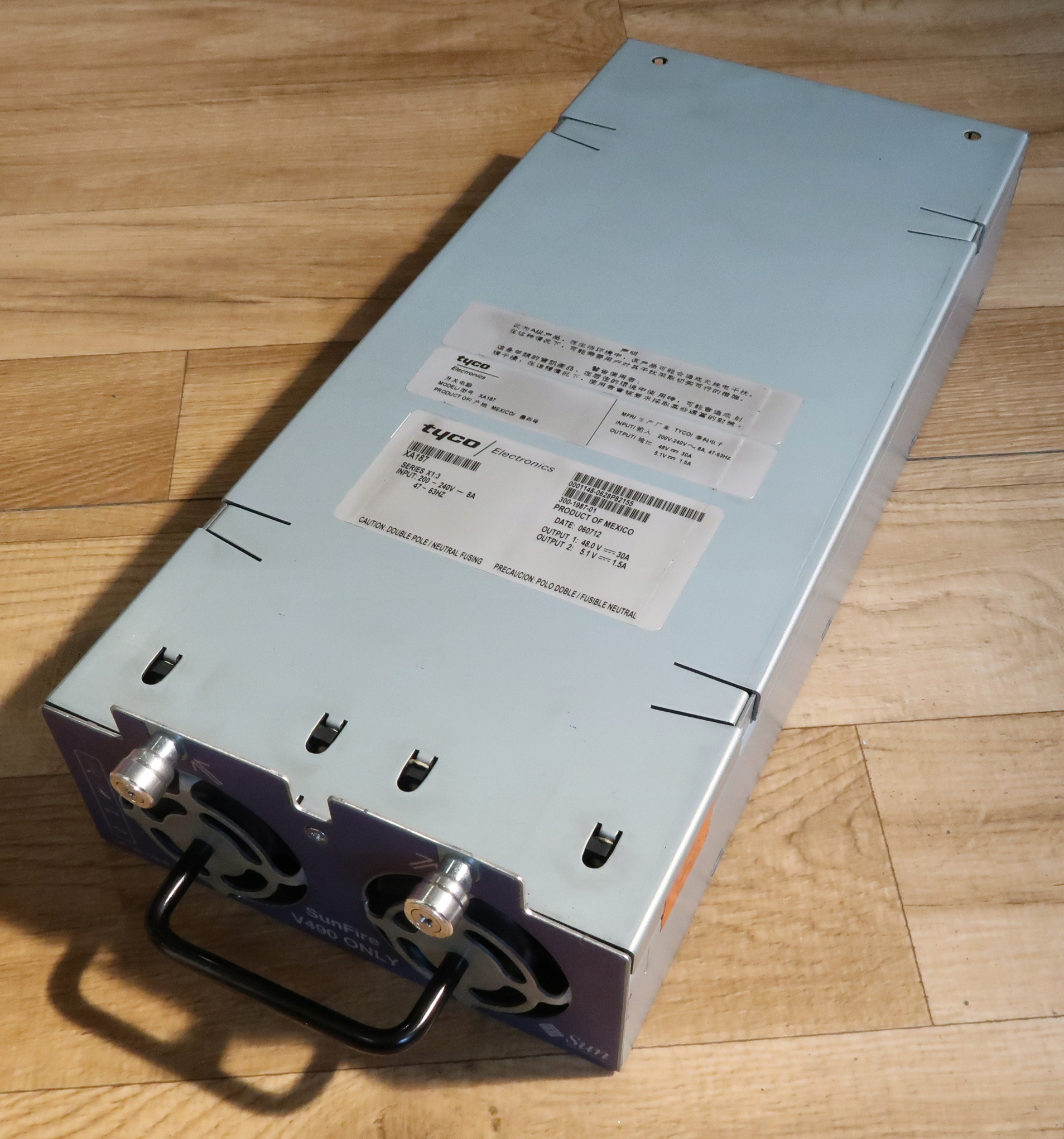 Zasilacz 48V 30A 1440W TYCO XA187