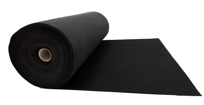 Filc CZARNY PREMIUM na torebki 4 mm 700 g/m2