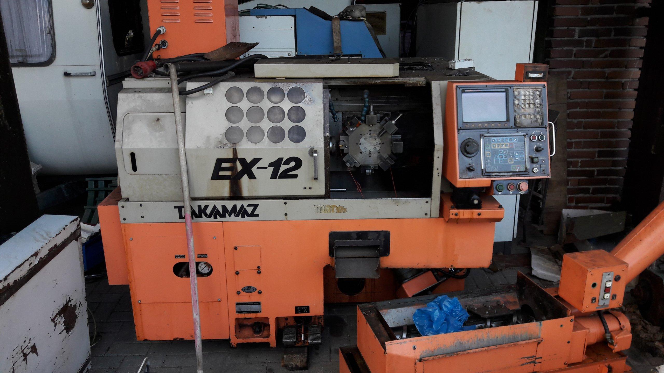 W Ultra Automat Tokarski CNC TAKAMAZ EX-12 rok prod. 1992 - 7293159298 HJ67