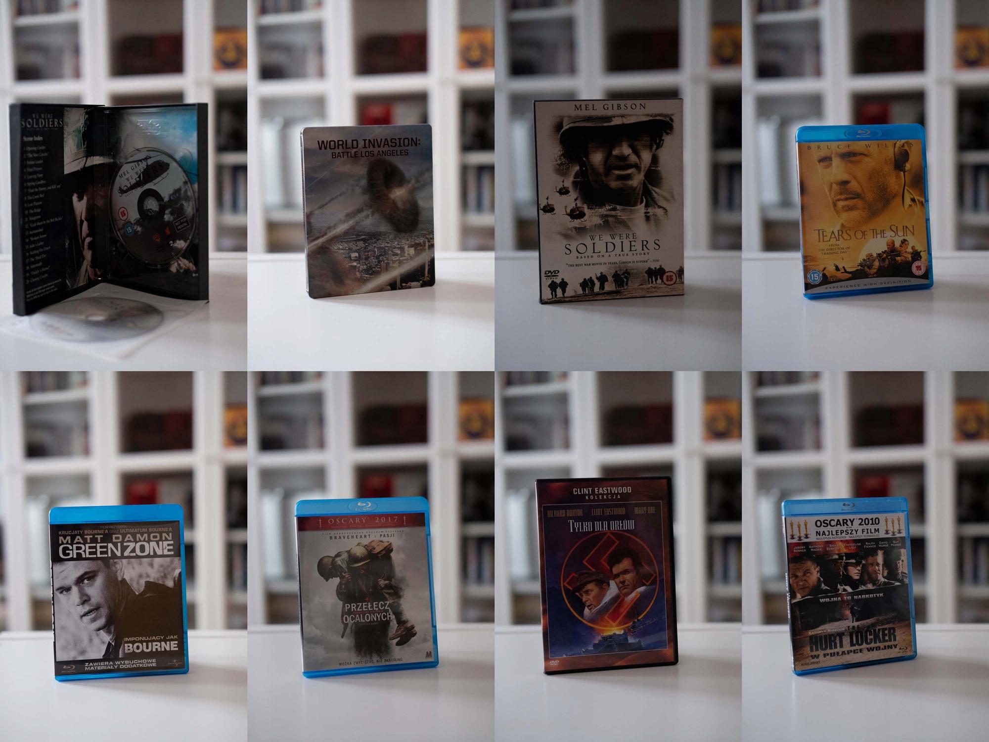 7 filmów wojennych, 5Blu-ray + 2DVD