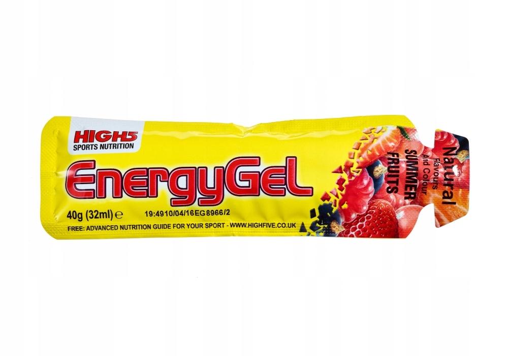 HIGH5 ŻEL ENERGETYCZNY ENERGY GEL OWOCE LATA