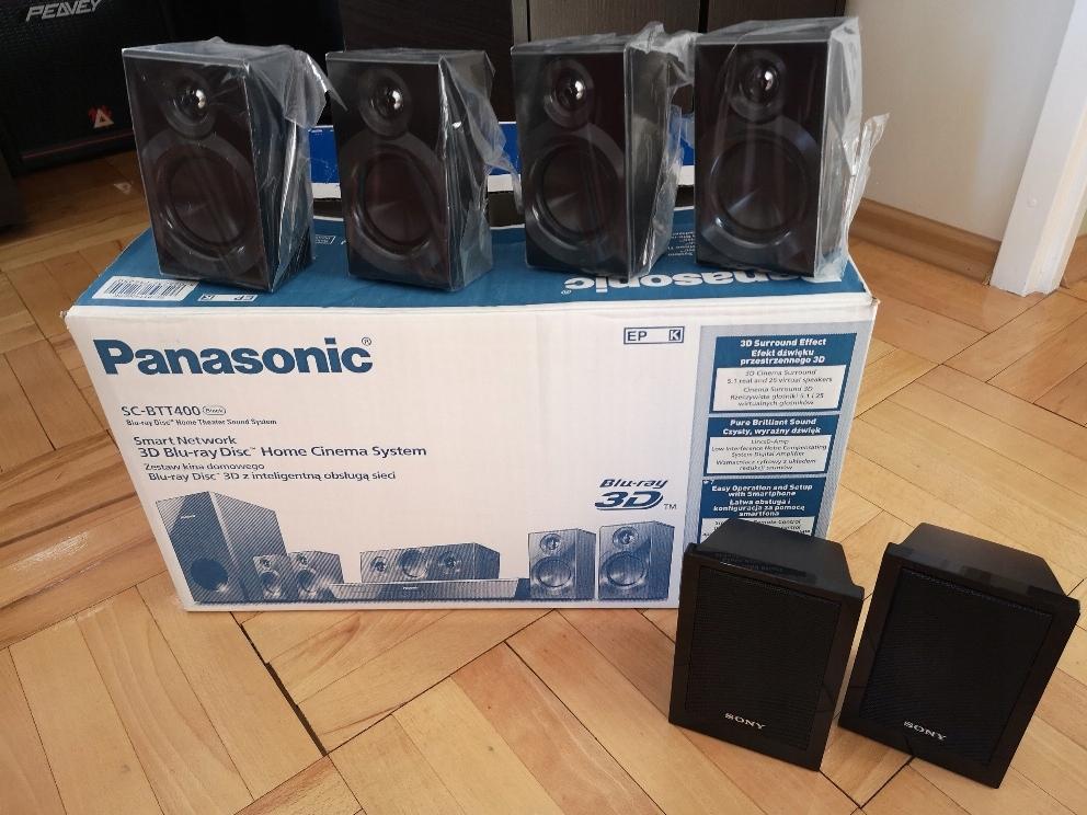 Kolumny satelity Panasonic SC-BTT400
