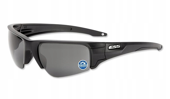 ESS - Crowbar Polarized Mirrored Gray Lenses - EE9