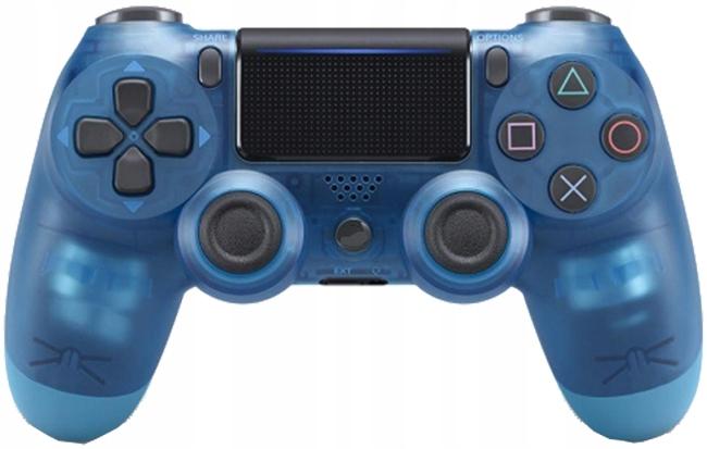 Pad Ps4 v2 jak Sony DualShock Crystal Blue 1000mAh