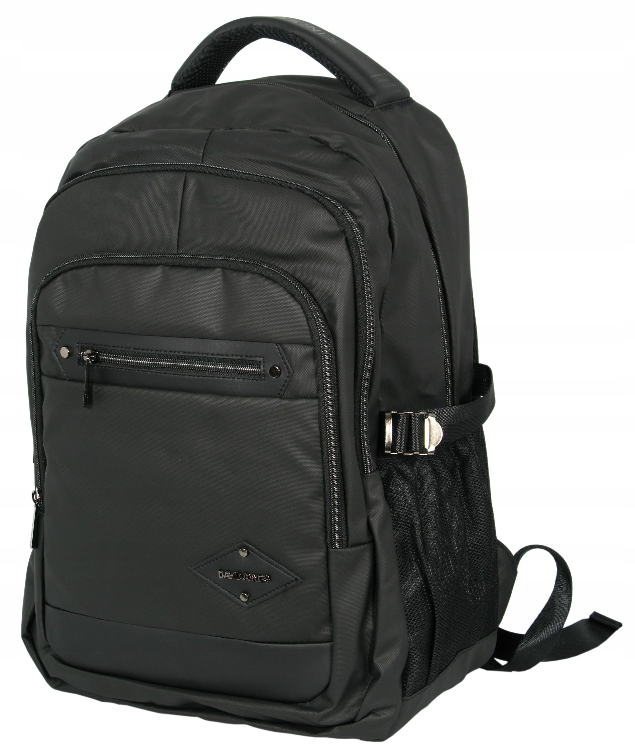 Plecak na laptop DAVID JONES PC-019 czarny 15,6