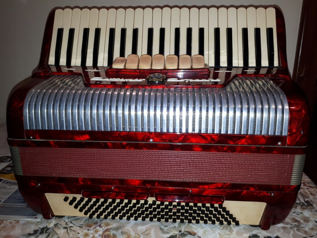 Akordeon Settimio Soprani 120 bas, idealny, okazja