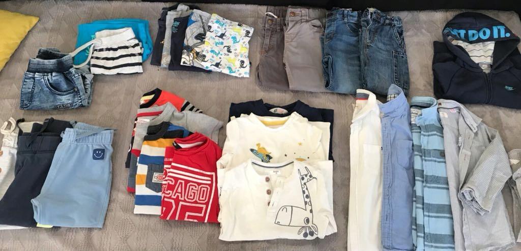 Paka ubrań dla chłopca 92-98 cm
