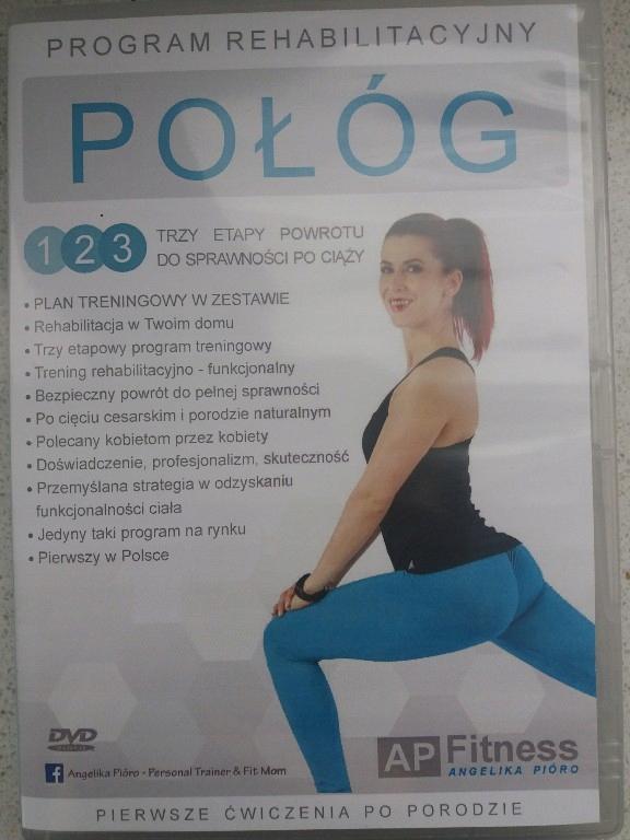 POŁÓG Płyta DVD ćwiczenia po porodzie