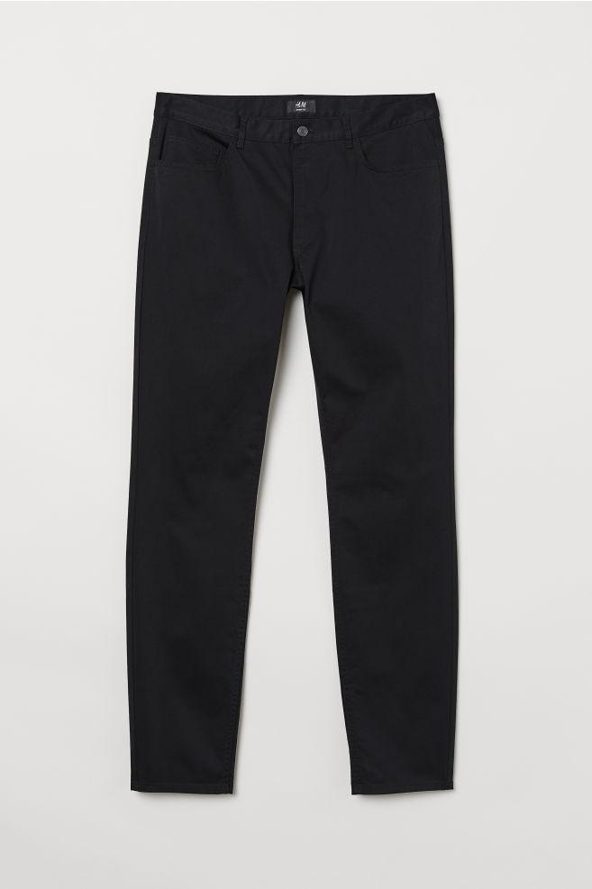 H&M, 31, bawełniane spodnie skinny fit