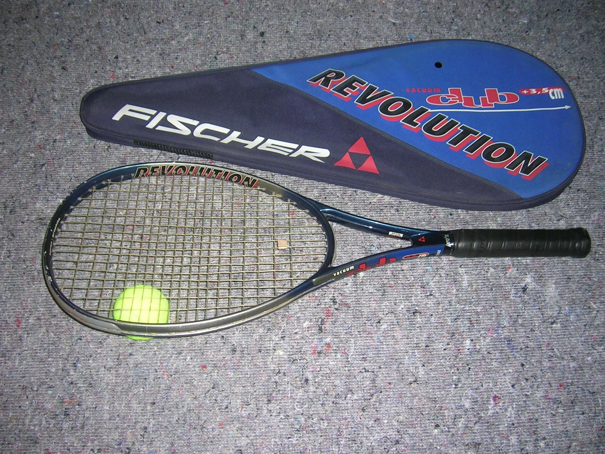 Rakieta tenisowa FISCHER REVOLUTION CLUB +3,5