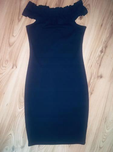 Reserved sukienka hiszpanka granatowa S