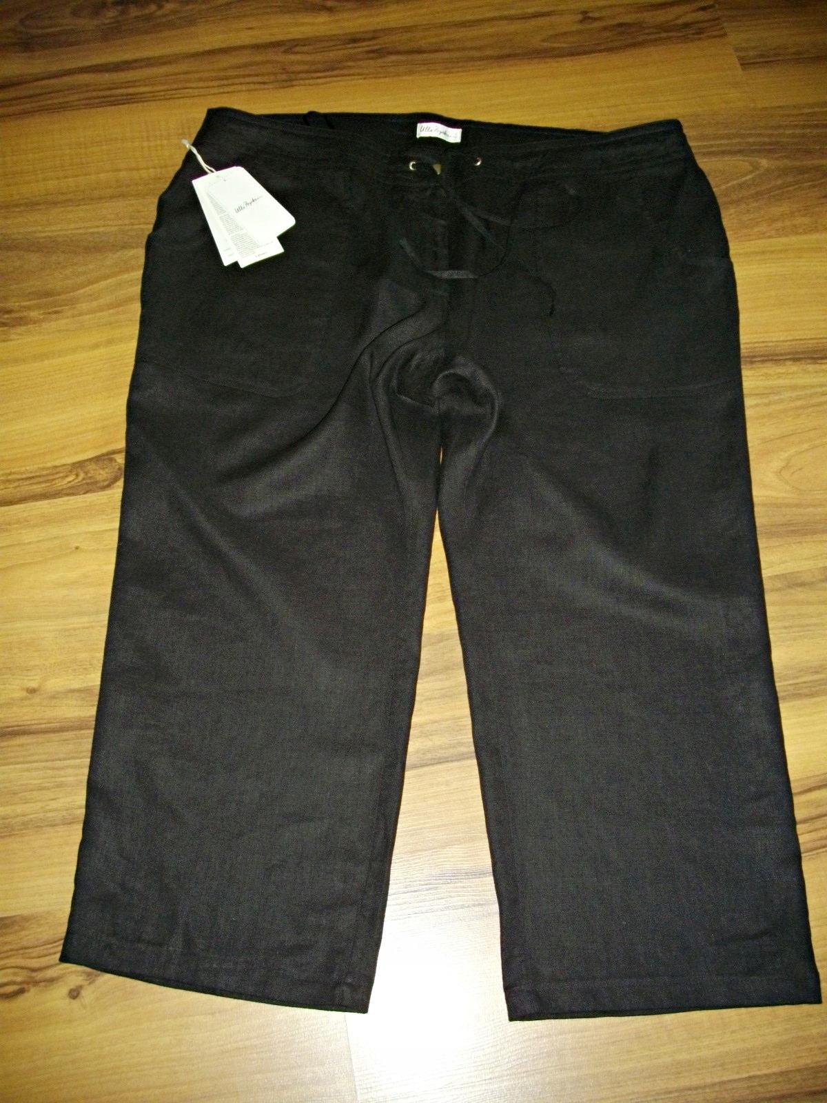 ULLA POPKEN size plus spodnie 7/8 len NOWE 52 54