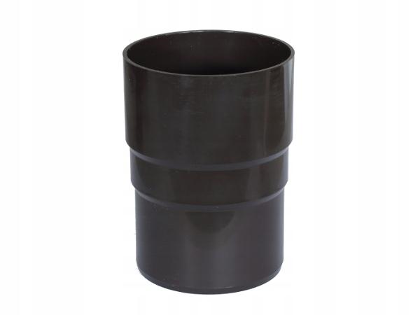 Złączka rury spust. PVC-U Gamrat 110mm ciemny brąz