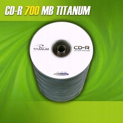 CD-R TITANUM 700MB (Spindle 100)