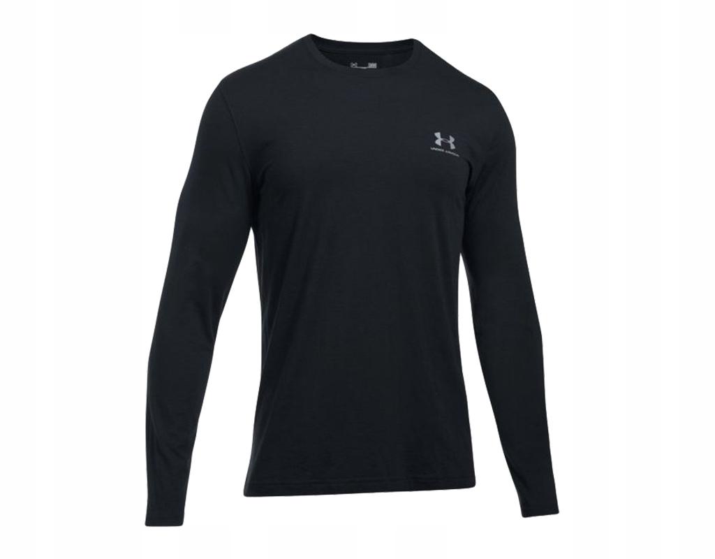Koszulka Under Armour Left Chest Black D/R L