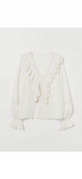 H&M koszula bluzka koronka 38