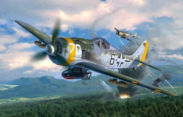 REVELL REVELL Focke Wulf FW190 F-8