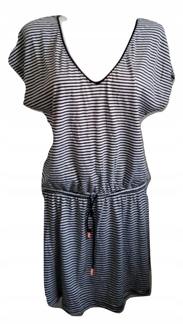 Reserved sukienka w paski 42 XL