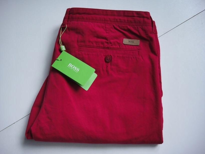 Hugo Boss Green spodnie rom 52 pas 95 cm Wyprzedaż