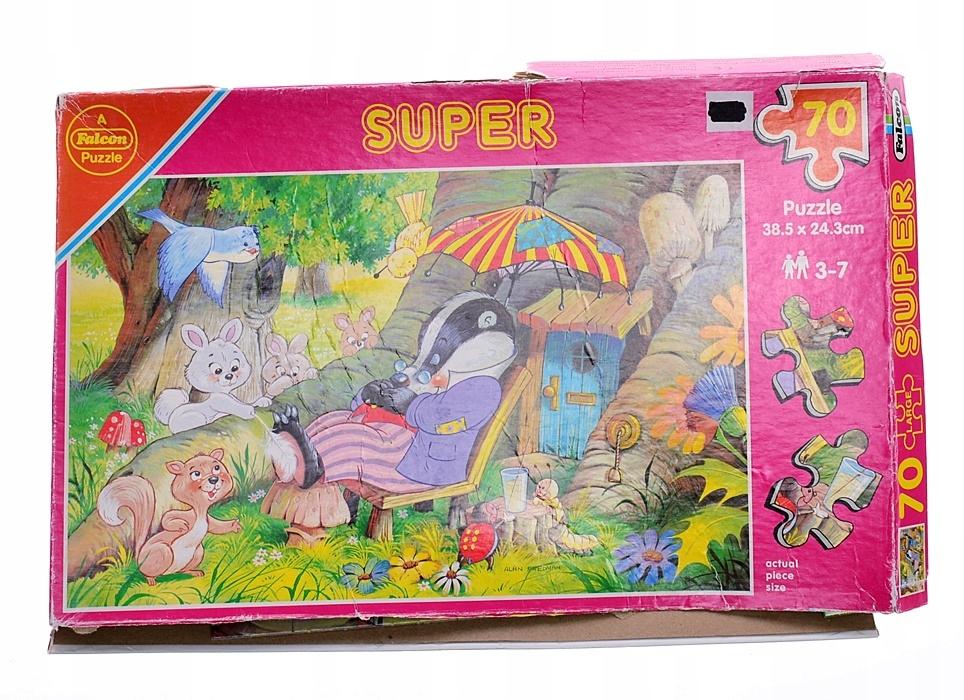 9524-5 ...FALCON SUPER d#k PUZZLE DRZEMKA SUSLA 70
