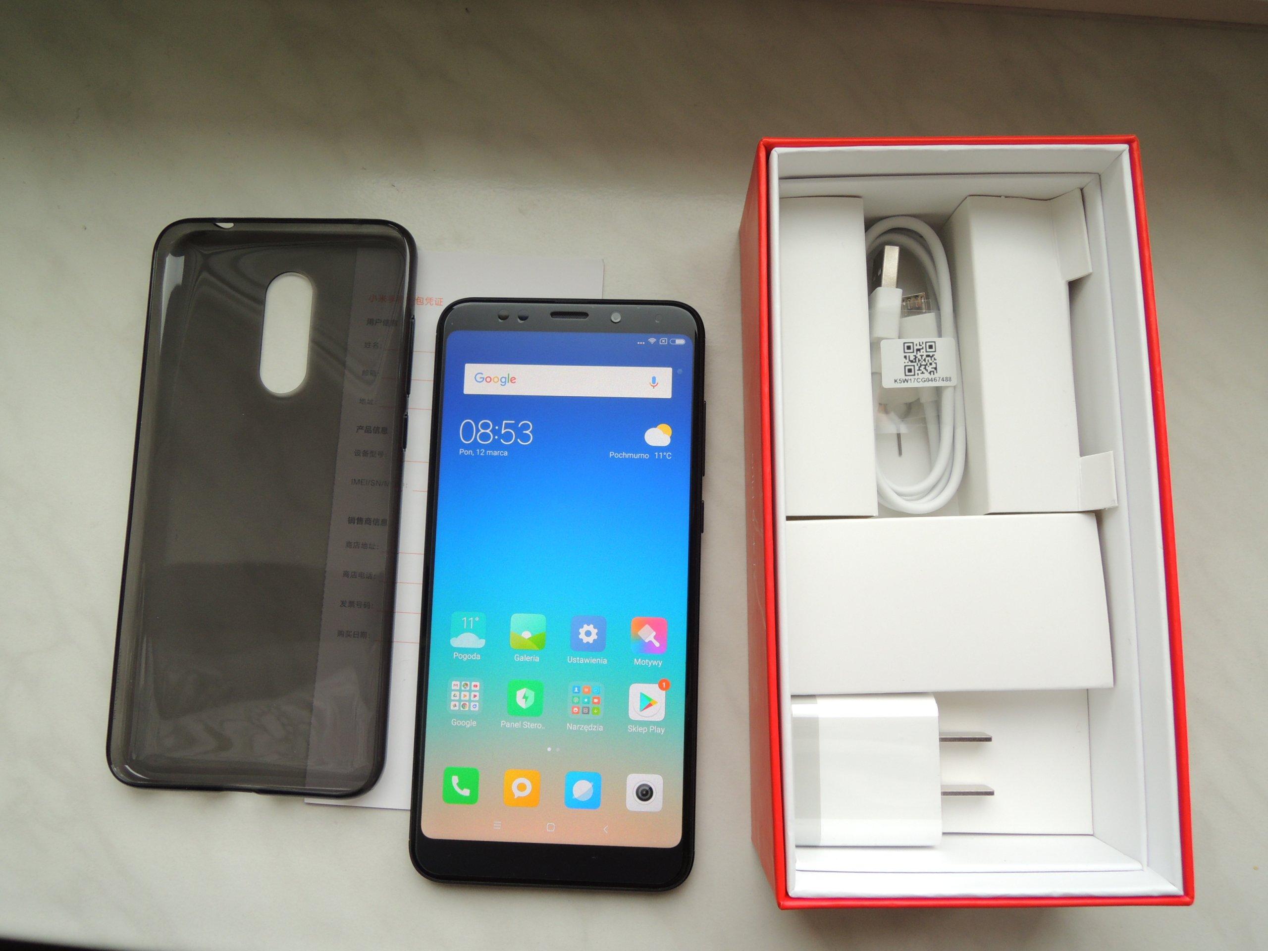 Nowy Xiaomi Redmi 5 PLUS 4 64GB od ręki