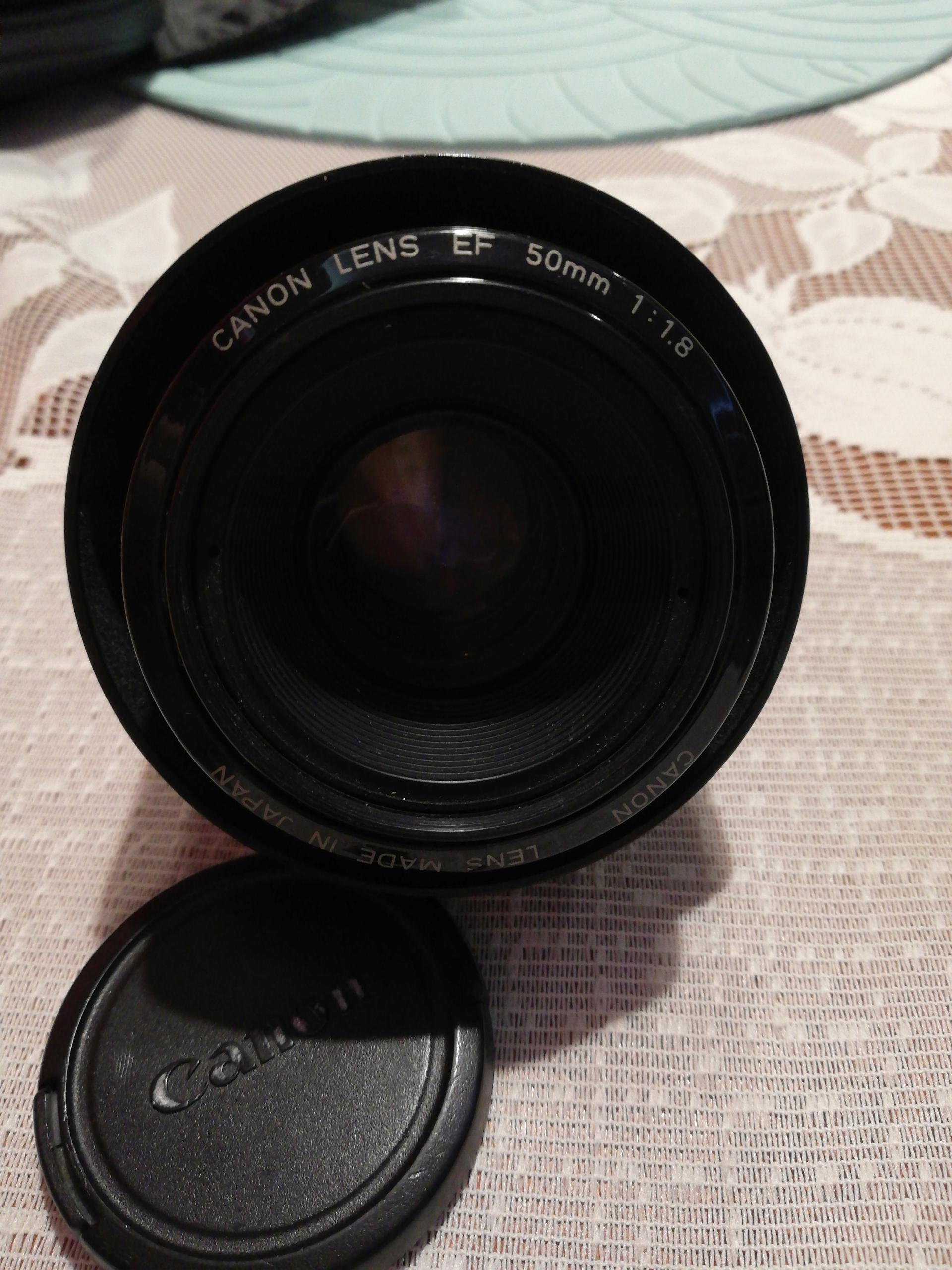 Obiektyw Canon EF 50 mm 1:1.8 STM