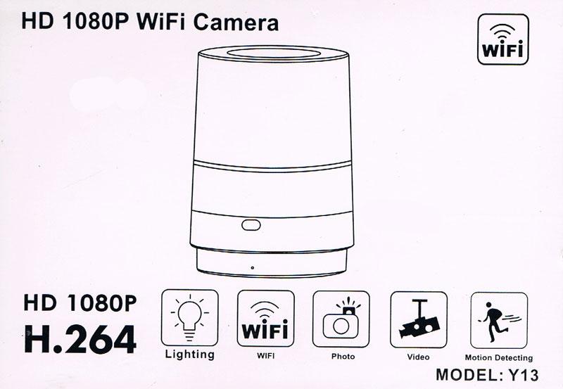 91344ec9a7334a Ukryta mini kamera Lampa LED IP WiFi HD 1080P - 7809972811 ...
