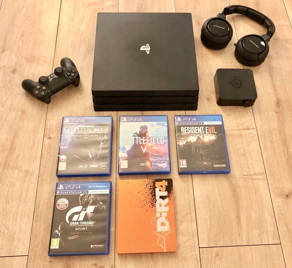 Sony PlayStation 4 PRO , PS4 PRO , 1TB / Gwarancja