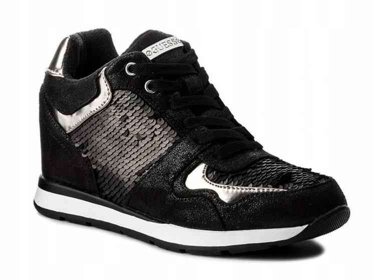 GUESS FLLAC4FAB12 R. 35 sneakersy cekiny G8 1