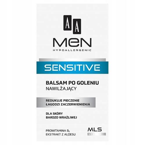 AA Men sensitive balsam po goleniu 100ml nawilżają