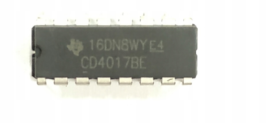 HEF4017BE CD4017BE 4017 Licznik CMOS DIP16