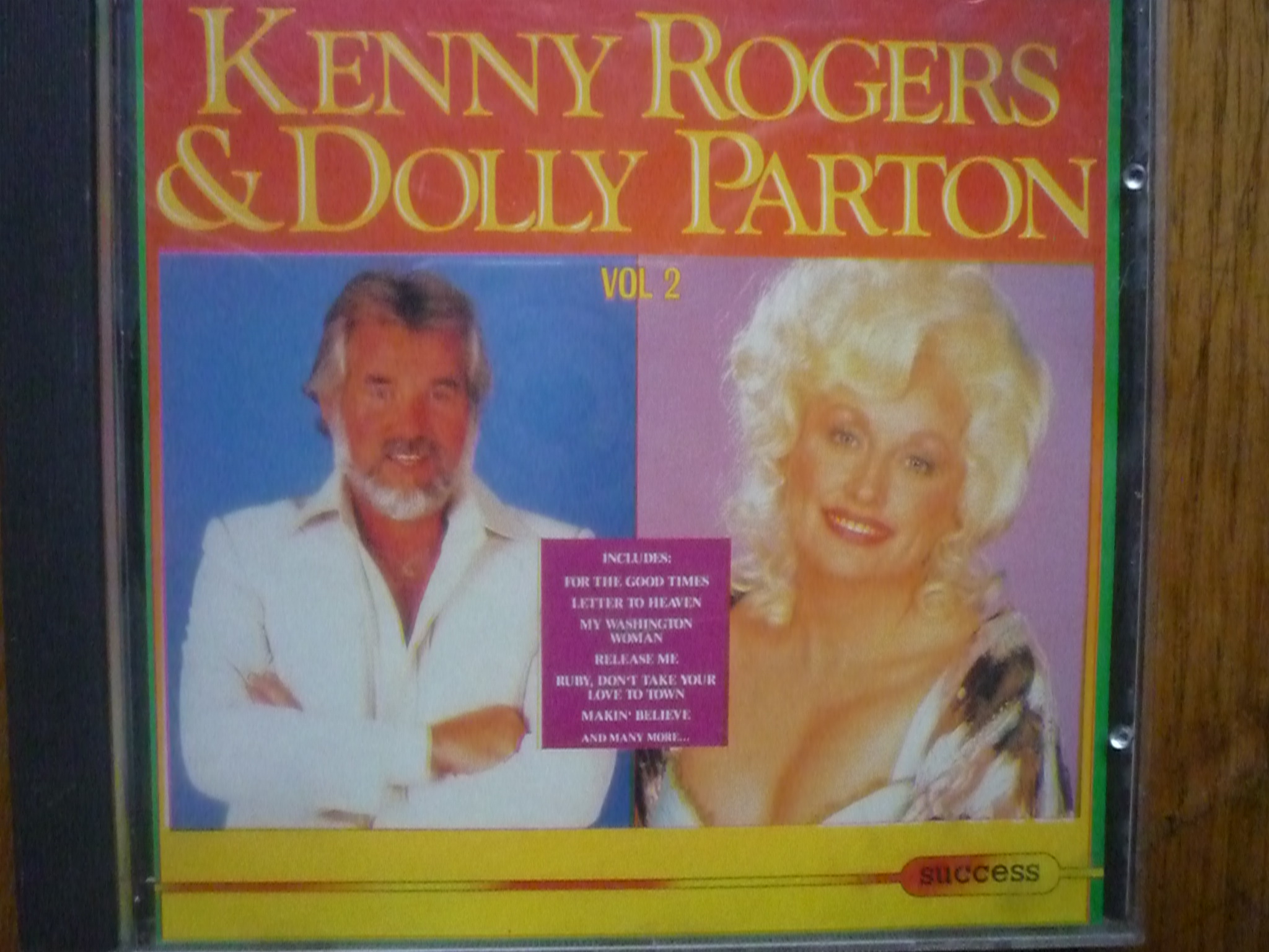 KENNY ROGERS & DOLLY PARTON VOL 2 CD